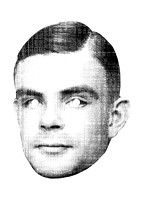 Exhibit A/03 Turing, Alan / 1912-1954 / computer scientist, mathematician, logician, cryptanalyst, theoretical biologist